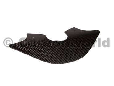 smoke deflector plate carbon for Ducati Monster – Image 1