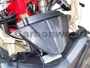 instrument cover carbon for Ducati 1098 1198 848 – Image 2