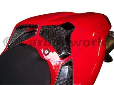Pad per vano sella carbonio Ducati 1098 1198 848 – Image 2