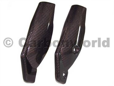 fork protector carbon for Ducati Hypermotard – Image 1