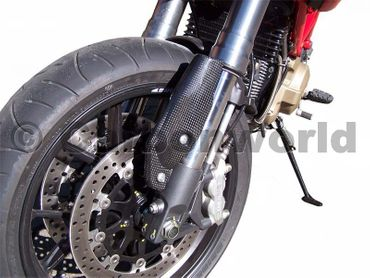 fork protector carbon for Ducati Hypermotard – Image 2