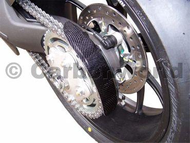 Kettenschutz hinten Carbon für Ducati Hypermotard – Bild 2