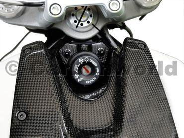 key guard carbon Ducati Monster ABS – Image 2