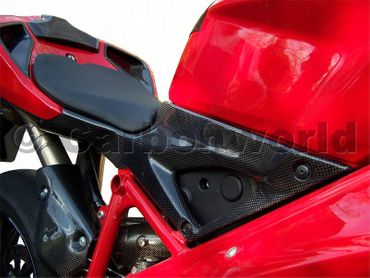 Airbox couvercle carbone pour Ducati 848 1098 1198 – Image 2