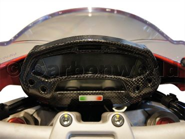 instrument cover carbon Ducati Monster – Image 3