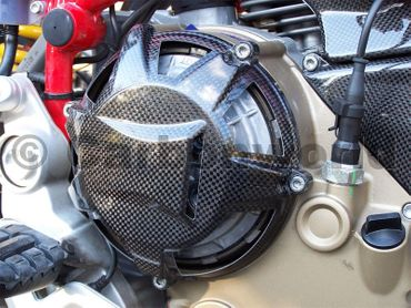 clutch cover ram air carbon for Ducati – Image 2
