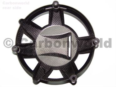 clutch cover ram air carbon for Ducati – Image 3