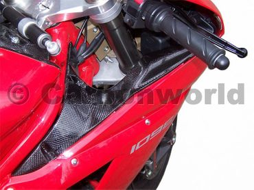 ram air cover carbon for Ducati 1098 1198 848 – Image 2