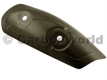 protezione calore in carbonio opaco  per Ducati Diavel – Image 1