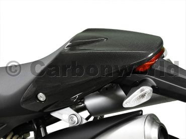 seat cover carbon for Ducati Monster – Image 2