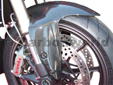 front fender carbon for Ducati Streetfighter – Image 2