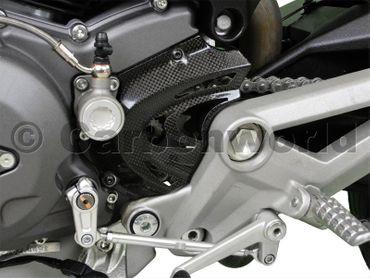 sprocket cover carbon Ducati Monster – Image 2