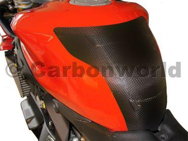 Copriserbatoio carbonio opaco per Ducati 899 959 1199 1299 Panigale – Image 2