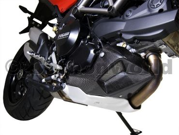 belly pan carbon for Ducati Multistrada 1200 – Image 2