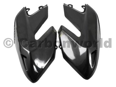 fuel tank panels carbon Ducati Hypermotard – Image 2