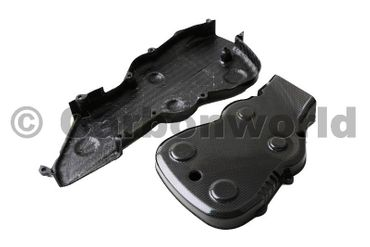 belt cover kit carbon Ducati 848 1098 1198 – Image 3