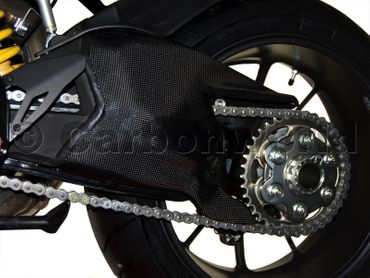 swingarm cover carbon for Ducati Streetfighter – Image 2