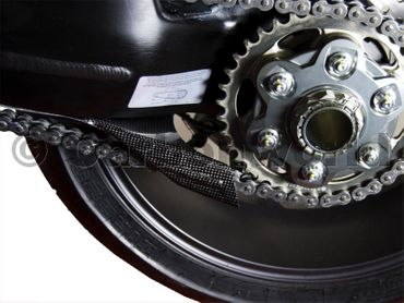 swingarm cover carbon Ducati superbike streetfighter – Image 2