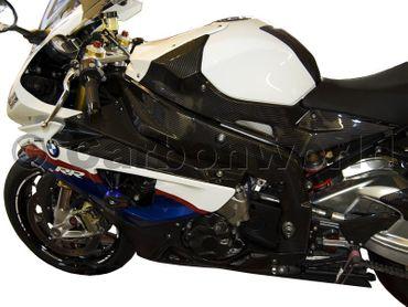 BMW S 1000 RR Fiancata carena sinistra carbonio – Image 2