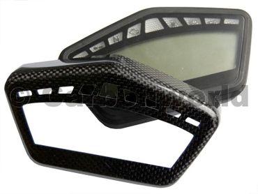 Tachoblende aus Carbon für Ducati Hypermotard 796 /1100 – Bild 1
