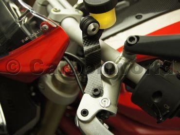 carbon fiber bracket Ducati 1100 – Image 3