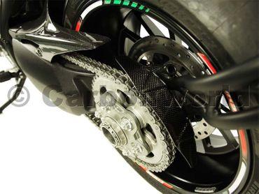 Kettenradabdeckung hinten Carbon für Ducati Diavel – Bild 2