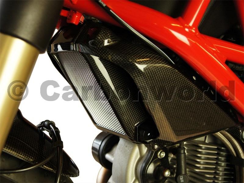 Copriradiatore Kit Carbonio Per Ducati Monster