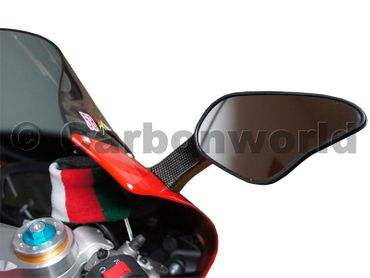 mirror body carbon for Ducati 848 1098 1198 – Image 8
