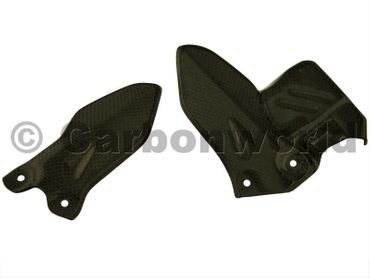 heel guard carbon for Ducati Monster 1100 EVO – Image 1