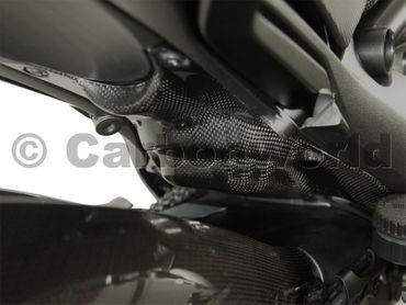 codone protezion calore carbonio opaco Ducati Diavel – Image 2