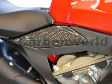 frame cover kit carbon for Ducati 1199 1299 Panigale – Image 2