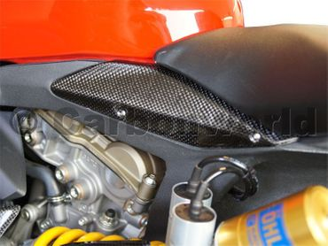 Rahmenkappen Carbon für Ducati 1199 1299 Panigale – Bild 3