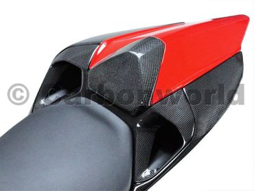 seat middle panel carbon for Ducati 899 1199 Panigale – Image 2