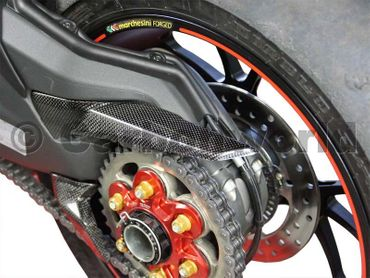 chain guard rear carbon for Ducati 1199 1299 Panigale – Image 2