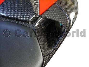 Lufteinlässe Sitzbank aus Carbon für Ducati 899 1199 Panigale – Bild 4