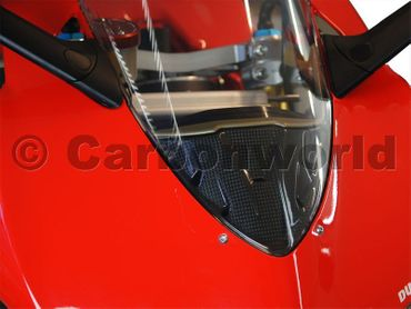 instrument cover carbon mat for Ducati 899 1199 Panigale – Image 2