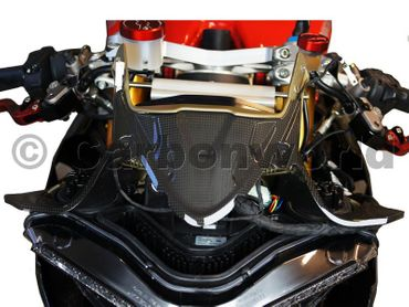 instrument cover carbon mat for Ducati 899 1199 Panigale – Image 4