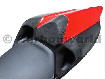 seat middle panel carbon mat for Ducati 899 1199 Panigale – Image 2