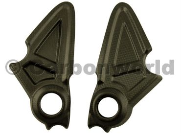 carbon frame cover for mat Ducati Diavel – Image 1