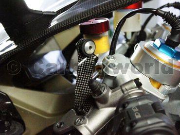 Behälterhalter Carbon für Ducati 899 959 1199 1299 Panigale – Bild 2