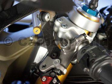 carbon fiber bracket mat for Ducati 899 959 1199 1299 Panigale – Image 2