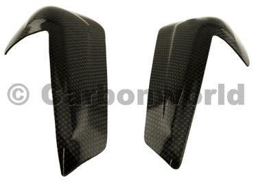 carbon fiber tank guard small for Ducati 899 959 1199 1299 Panigale – Image 4