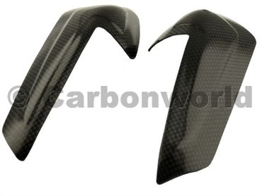 carbon fiber tank guard small for Ducati 899 959 1199 1299 Panigale – Image 5