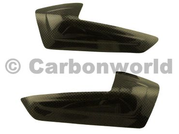 carbon fiber tank guard small for Ducati 899 959 1199 1299 Panigale – Image 1