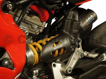 Federbeinschutz Corse Carbon  matt  für Ducati 1199 S, 1299 S Panigale – Bild 6