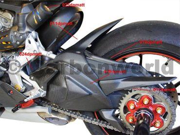 Federbeinschutz Corse Carbon  matt  für Ducati 1199 S, 1299 S Panigale – Bild 8