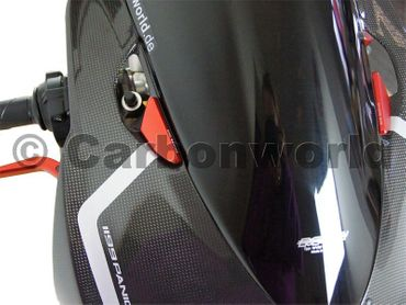 Mirror hole caps red  CNC Racing  for Ducati Panigale – Image 4
