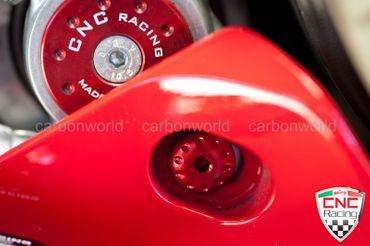 Screw Kit red CNC Racing for Ducati Panigale – Image 6