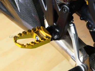 reposes pieds eco touring or CNC Racing pour Ducati Diavel – Image 3