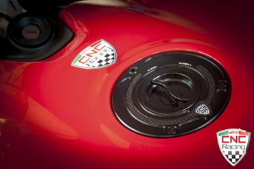 Fuel tank cap black CNC Racing for Ducati – Image 3